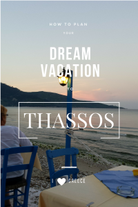 dream vacation to Thassos Greece